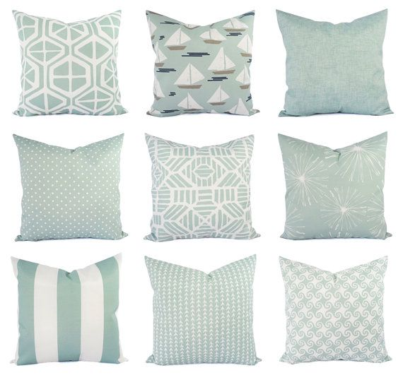 Magnificent Light Blue Pillow Cover Outdoor Throw Pillow Decorative Caraccident5 Cool Chair Designs And Ideas Caraccident5Info