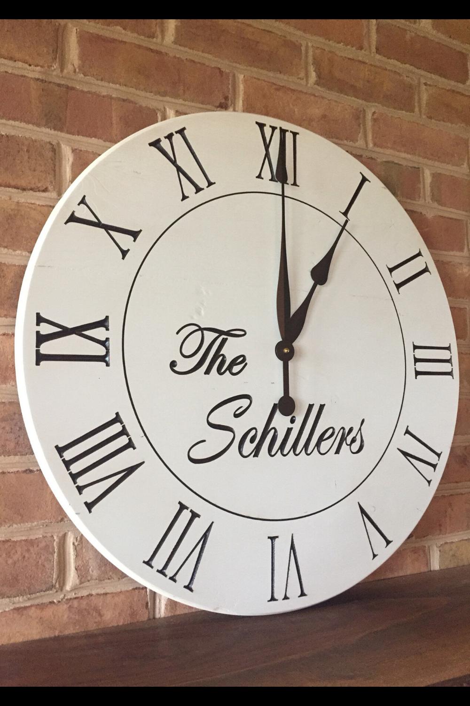20 Wall Clock Decor Ideas In 2020 Wall Clock Personalized Wall Clock Clock