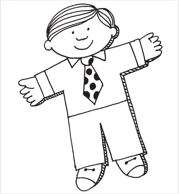 Flat Stanley Template - 8+ Free PDF Download Sample Templates - flat stanley template