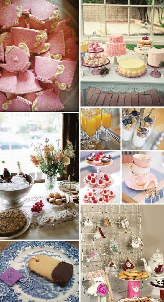 Tea Party Bridal Shower Ideas Party Bridal