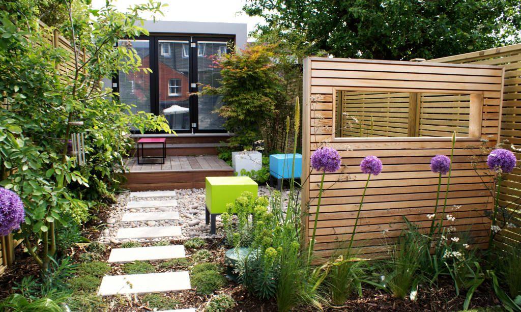 Idee per far sembrare il terrazzo o il giardino più grande