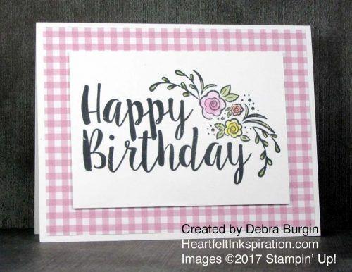 Big Big Happy Birthday Heartfelt Inkspiration Its So Easy To