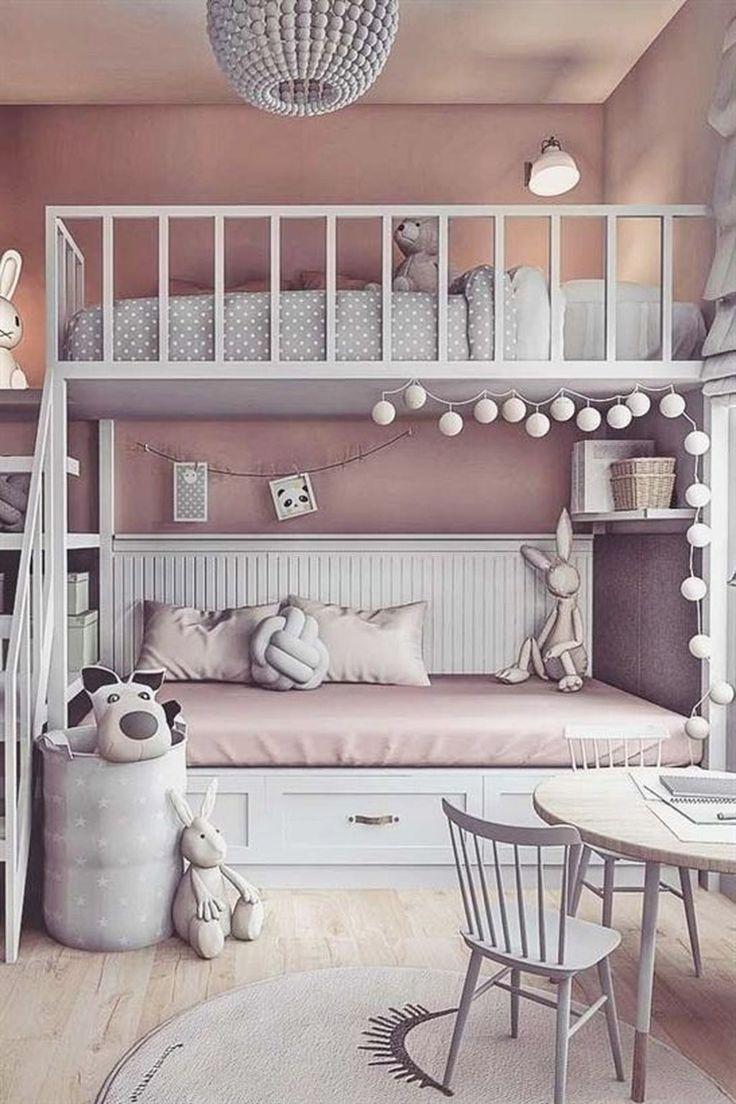 Photo of 46 schöne Mädchen Schlafzimmer Ideen – DIY Baby Dekoration