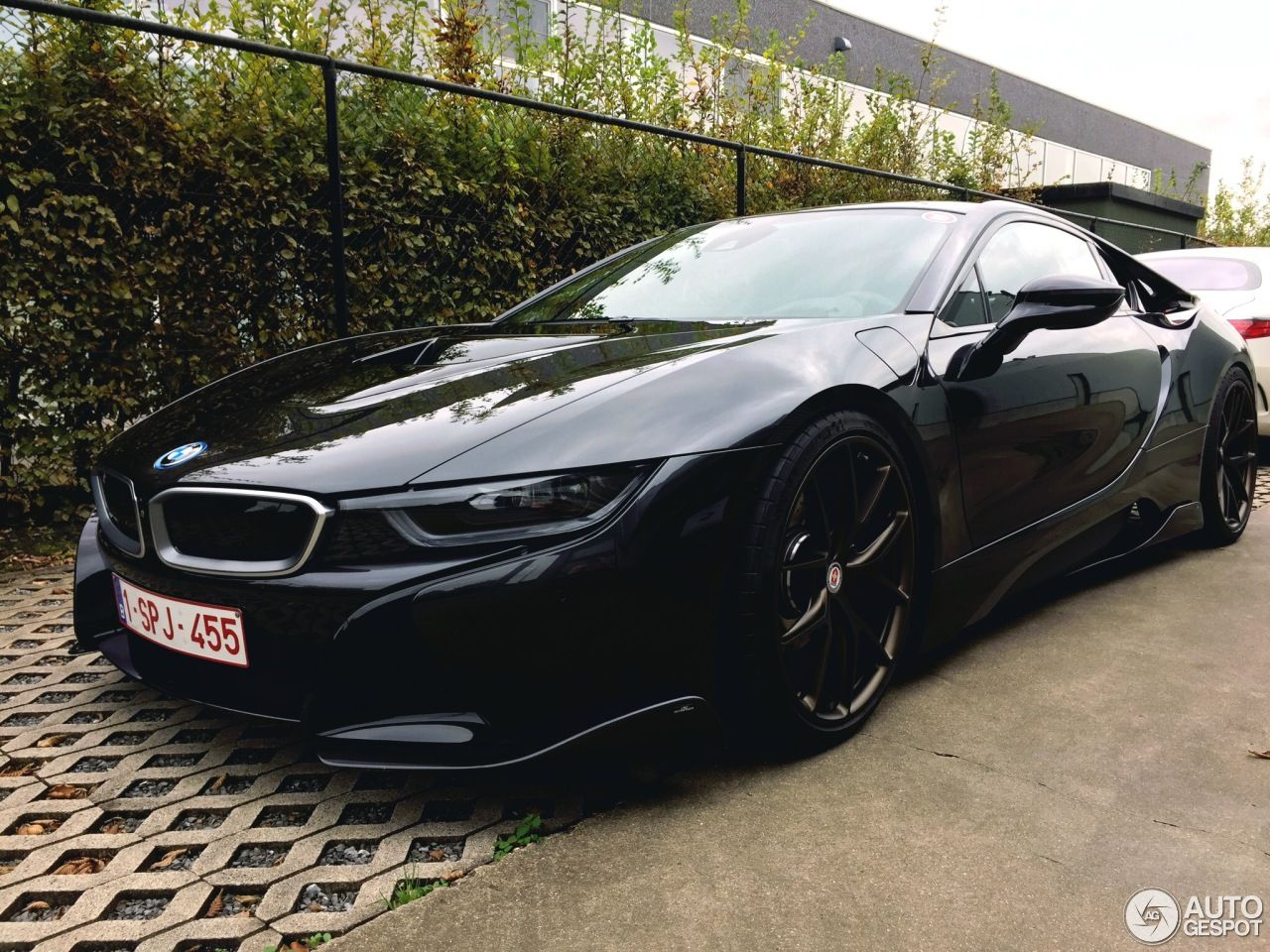All Black Ac Schnitzer Tuned Bmw I8 Is What Kitt Would Look Like Today Bmw I8 Bmw Cars