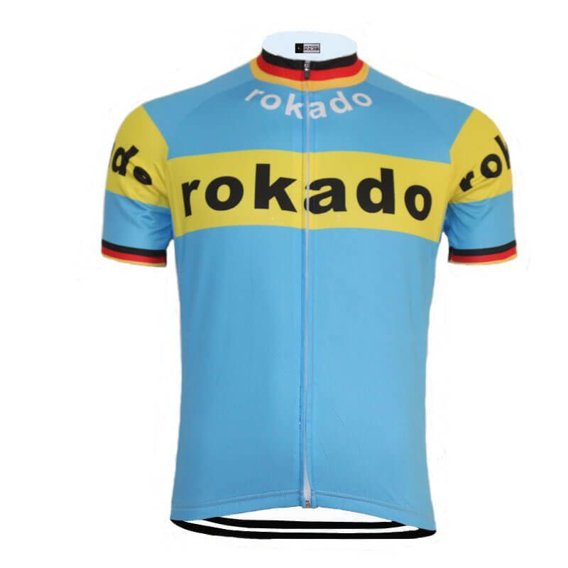 Retro Team ROKADO Cycling Jersey  1a9578fad