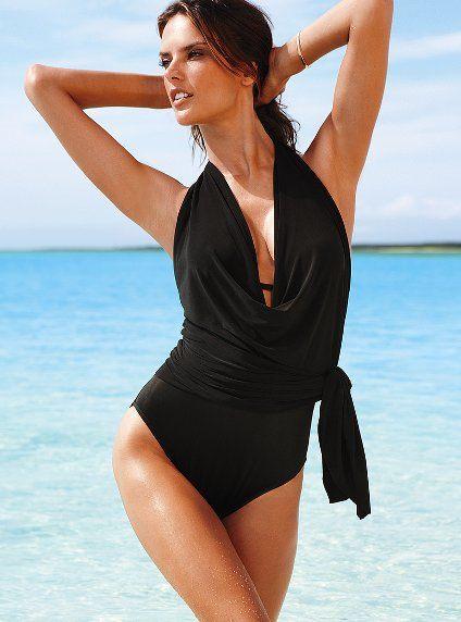 c9e3bd0fb97e9 Magicsuit Collection -- Firm Control Convertible Dress One Piece -- By Victoria  Secret --- LOVE!!  3  3  3