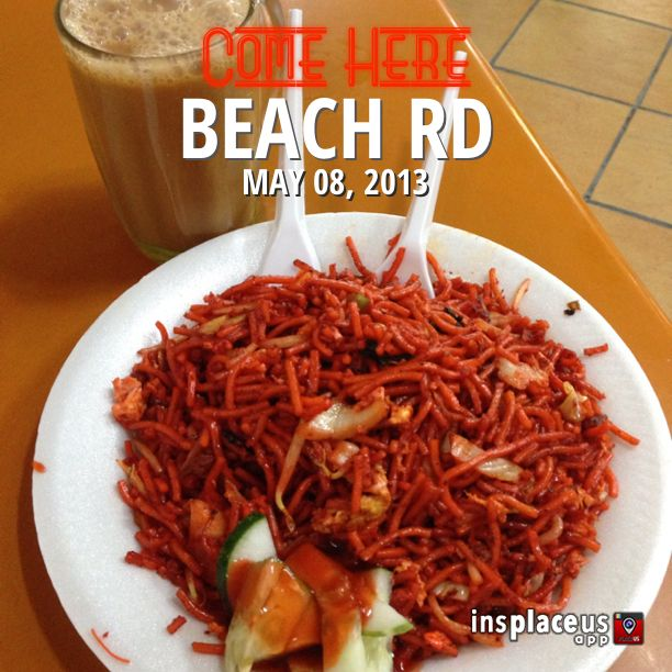 Mee Goreng From Beach Rd Singapore Food Food Street Food