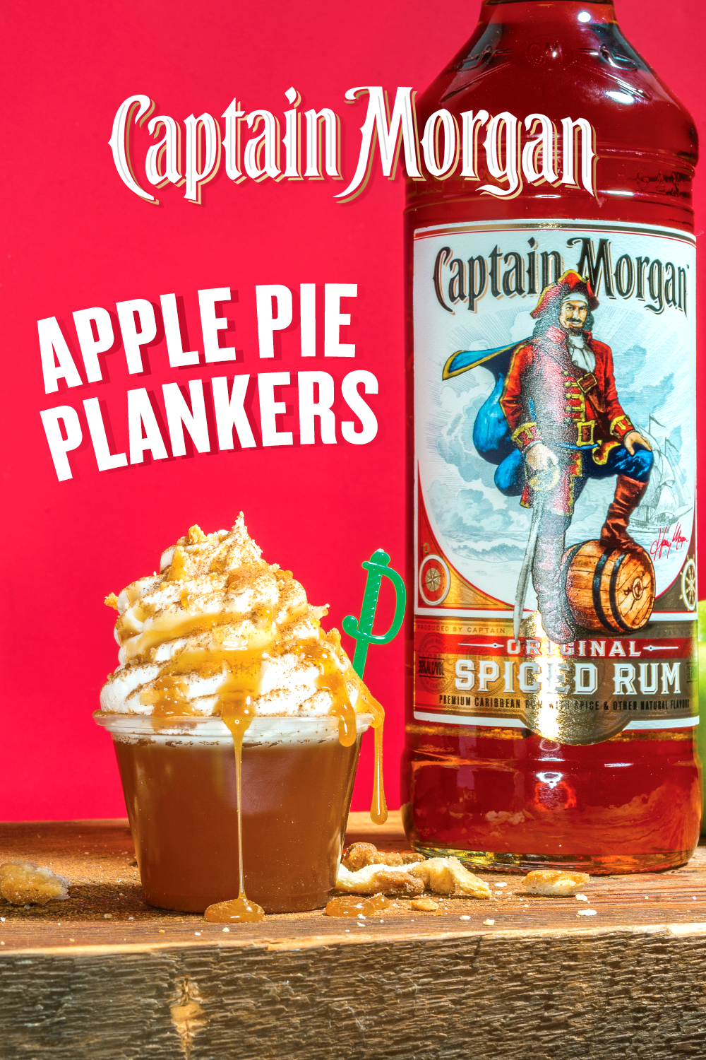 Nothing Makes The Perfect Tailgate More Than The Perfect Spiced Rum Cocktail Enter Captain Morgan Apple Pie Spiced Rum Cocktails Rum Drinks Recipes Spiced Rum