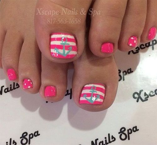 You can never ignore your feet because they are the cardinal part of  yourself, people. Summer Toe NailsToe ... - You Can Never Ignore Your Feet Because They Are The Cardinal Part