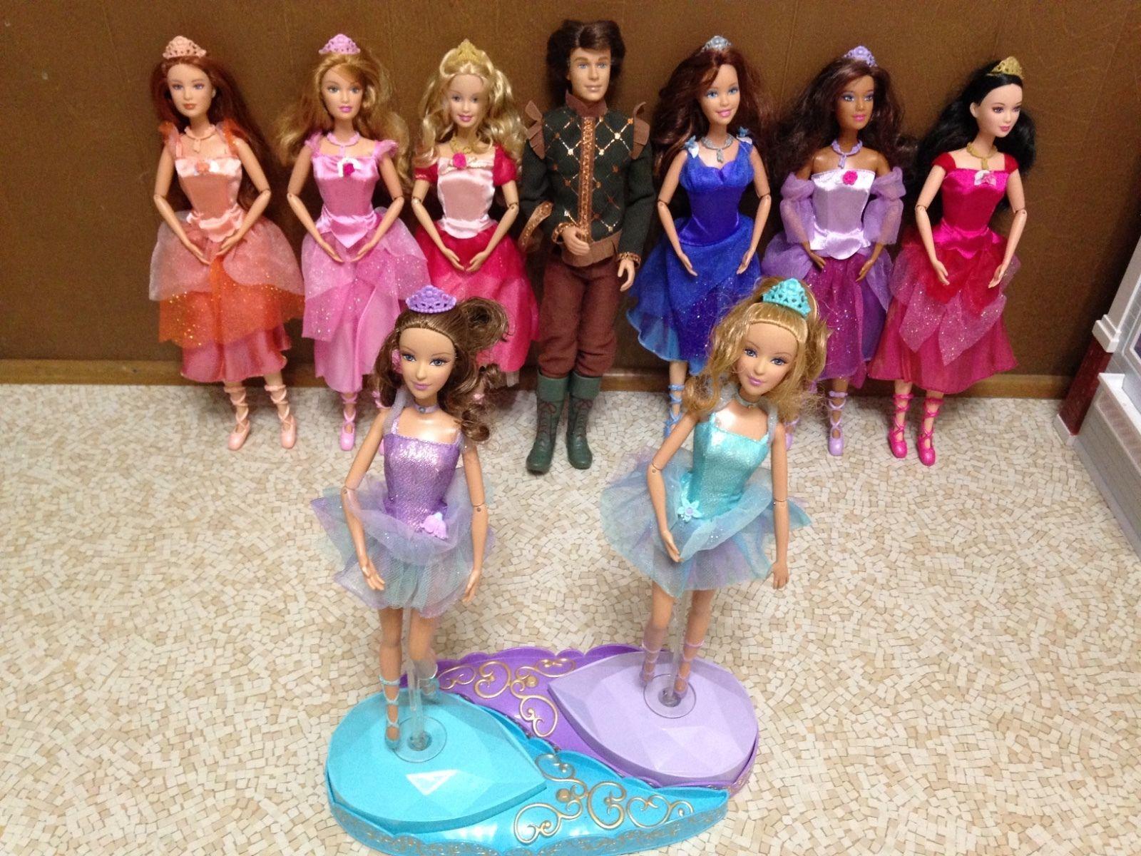 Barbie In The 12 Dancing Princess Ashlyn Courtney Edeline Fallon Blair Genevieve