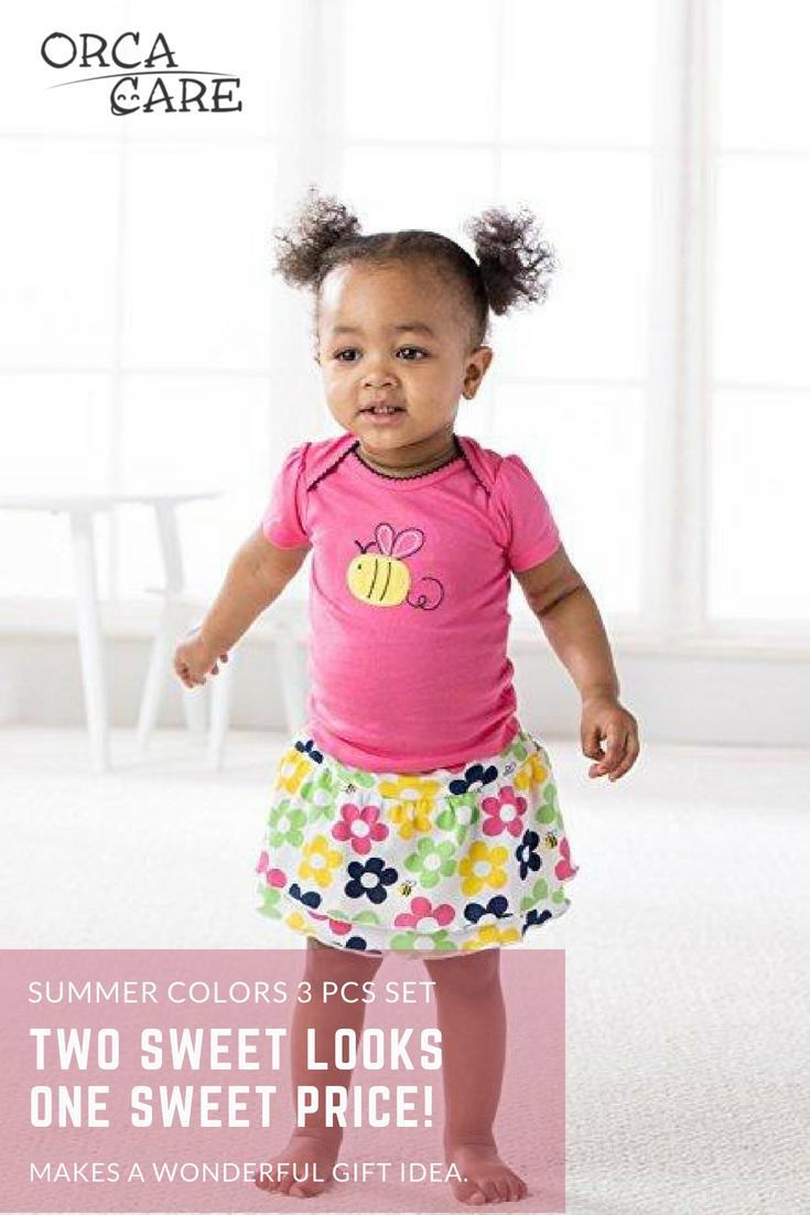 ba74916fe Summer Colors 3 Pcs SetA sweet fashionable outfit for anytime ...