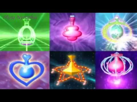 Winx club season 3 all Fairydust and Transformations - YouTube