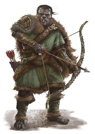 Orc Archer by PrincepsSenatus on deviantART   Fantasy creatures, Fantasy  characters, Fantasy monster