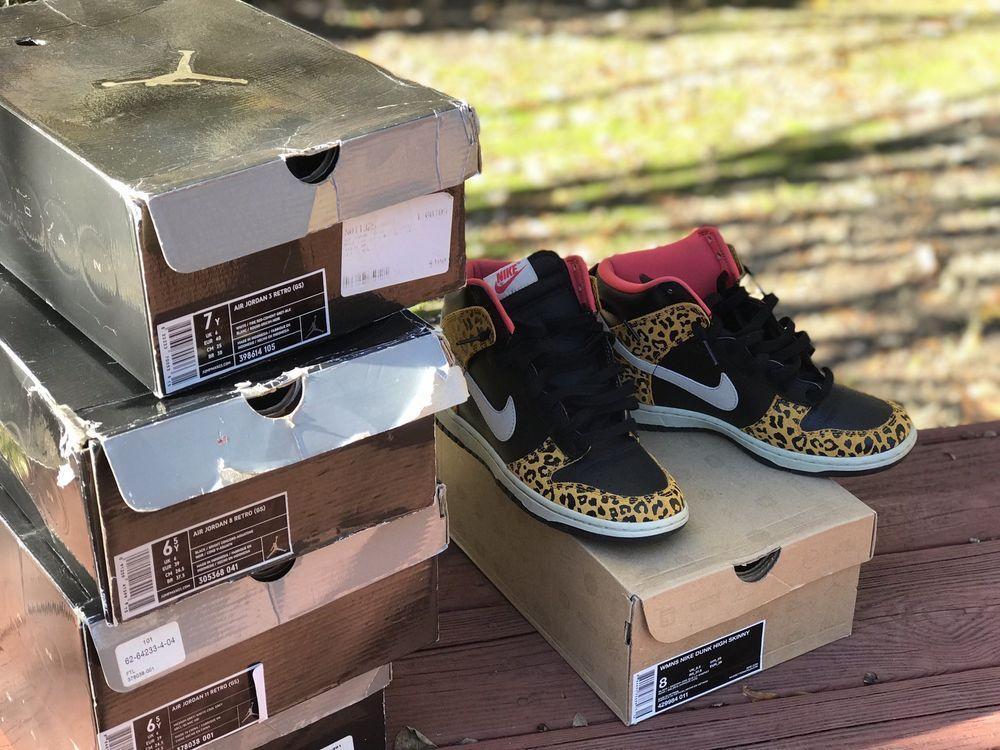 big sale 05366 8181a Womens Cheetah Print Nike Dunk High Skinny  fashion  clothing  shoes   accessories  womensshoes  athleticshoes (ebay link)