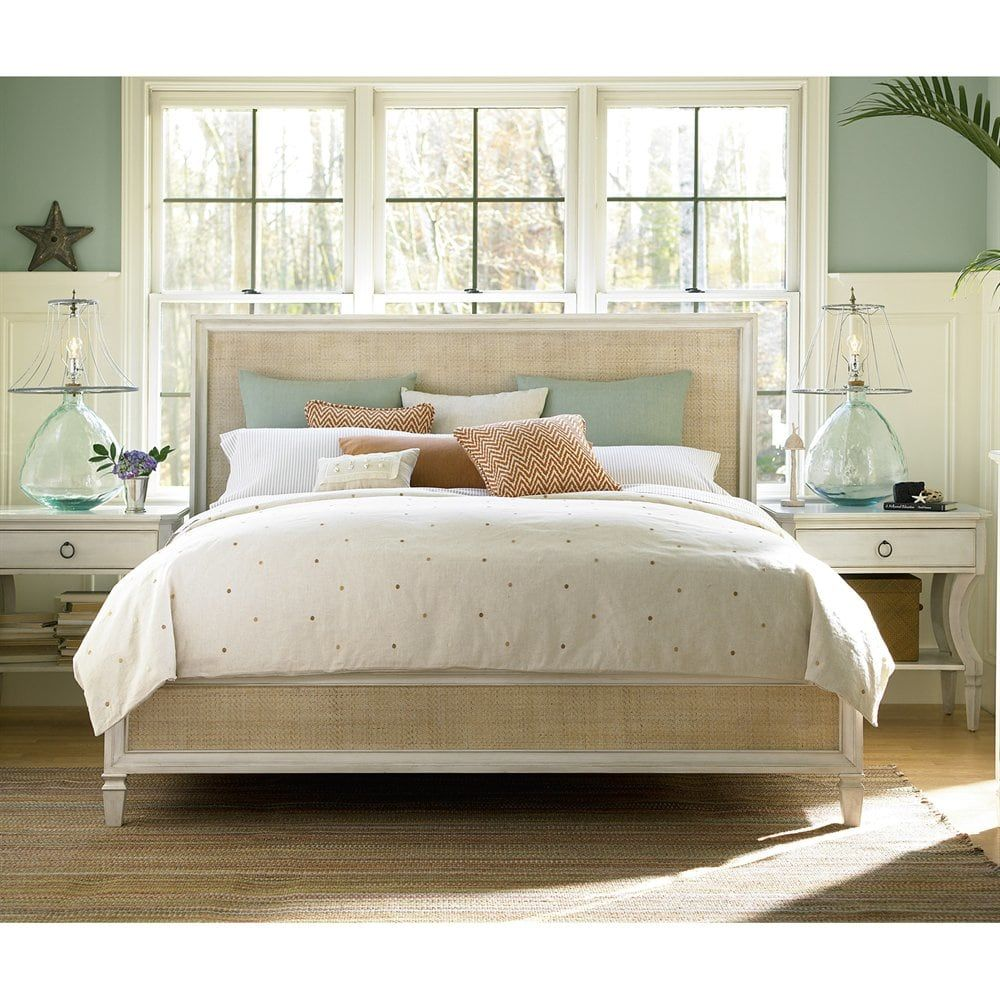 Universal Furniture Curated Upholstered Metal Bed