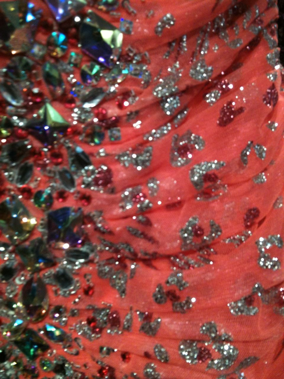 Jovani style glitter u beads glitter crystals u sequins