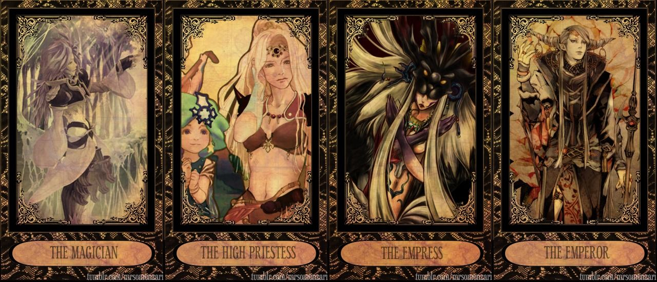 this world isn't enough - mrsomenzari: FINAL FANTASY TAROT CARDS The...   Final fantasy, Fantasy ...