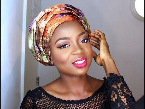 how to tie small gele beginner friendly nigerian