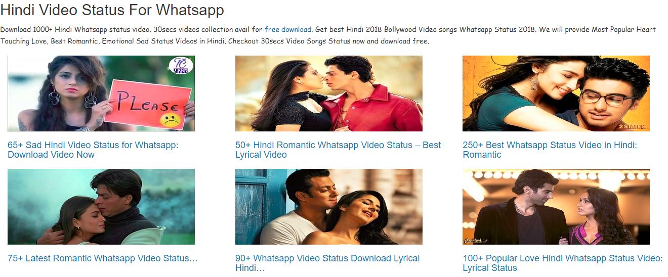 Whatsapp Status Video Hindi Song Download 2018 whatsapp status