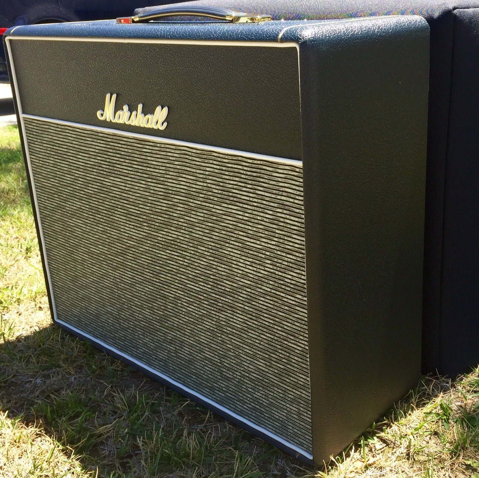Marshall 1974X Handwired Reissue Combo Amp W/EC Collins Bluesbreaker Cloth | Reverb