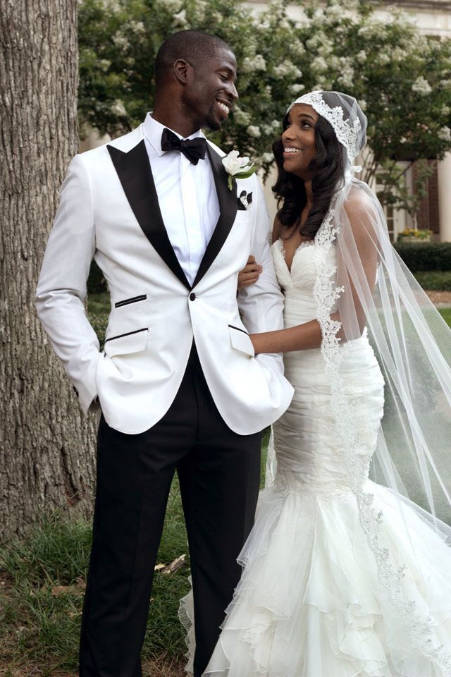 We Love The Contrasting Colours On Grooms Black And White
