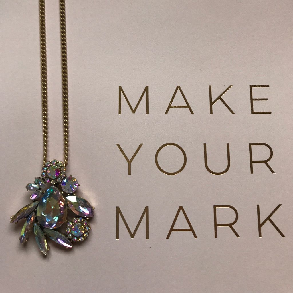 J crew factory crystals pendant necklace crystal pendant necklace