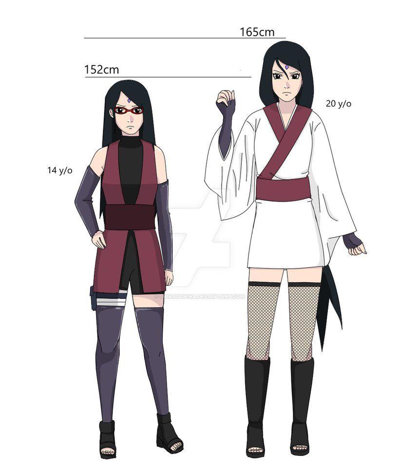 Uchiha Sarada Designs By Shinauchiha Naruto Girls Naruto Comic Uchiha