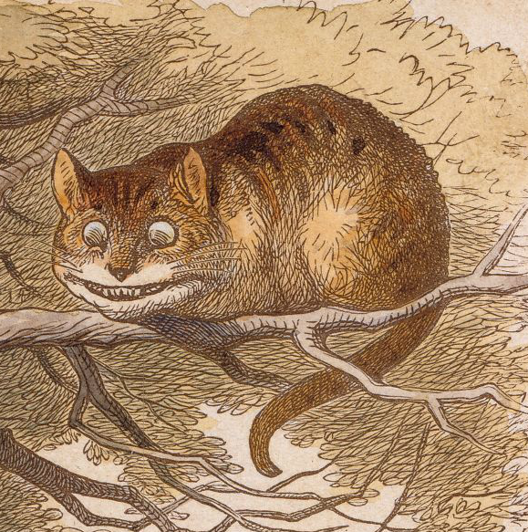 Cheshire Cat - Wikipedia, the free encyclopedia | Maker