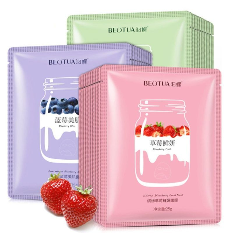 Photo of Plant Extracts Fruit Face Masks Collagen Essence Facial Mask Remover