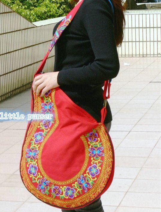 bolsa Bordado lona popular bolsa estilo mano a bolso bordado hecho rIxtIgq