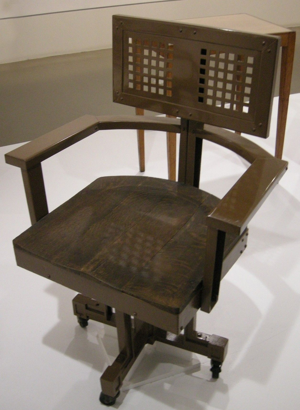 Frank Lloyd Wright Muebles Amazing Mesa De Diseo De Frank Lloyd  # Muebles Peter Behrens