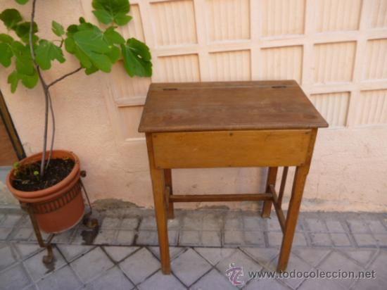 Antigüedades   Muebles Antiguos   Escritorios Antiguos: Antiguo Pupitre  Individual. Compra, Venta Y Subastas De Escritorios En Todocoleccion. Lote  31720468