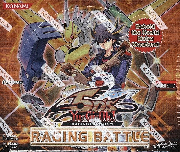 YUGIOH RAGING BATTLE BOOSTER BOX BLOWOUT CARDS #Gaming