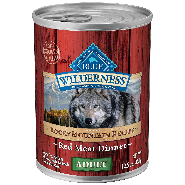 Blue Buffalo Blue Wilderness Rocky Mountain Recipe Adult Red Meat