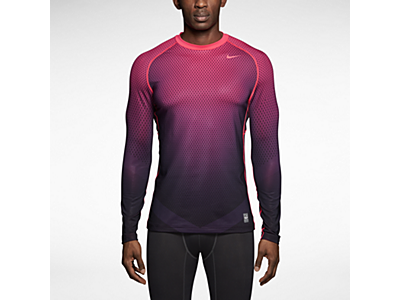 Nike Pro Combat Hyperwarm Dri FIT Max Fitted Chameleon Long