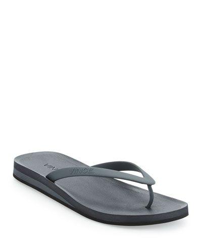 19e3d58a1cfa VINCE Tyler Rubber Flip-Flop Sandal