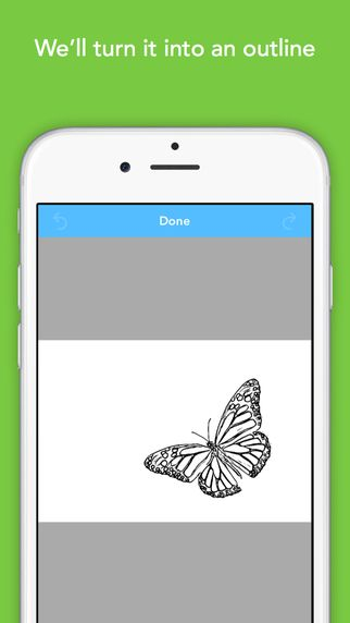 Colorscape Turn Your Photos Into Coloring Pages On The App Store App Your Photos Turn Ons