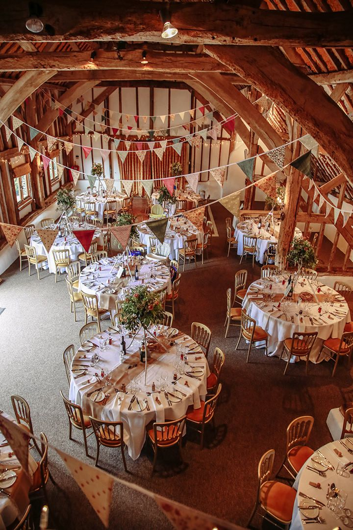 Pip and Adam's Sussex Barn Wedding. By Paul Fletcher