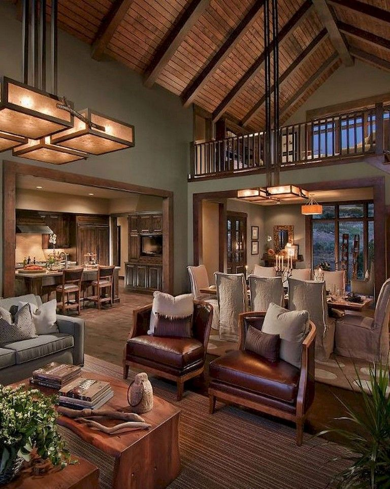 67 Top Farmhouse Living Room Makeover Decor Ideas Rustic Living Room Design Log Cabin Interior Rustic Farmhouse Living Room