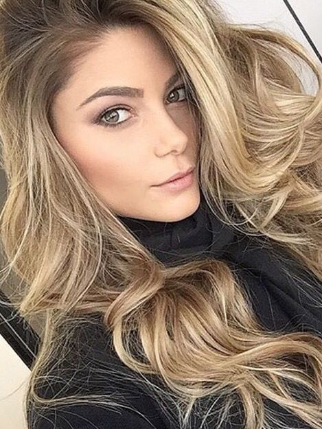 Beautiful Beauty Blonde Hair Fashion Green Eyes Hairstyle Makeup Pink Quality Style Tumblr