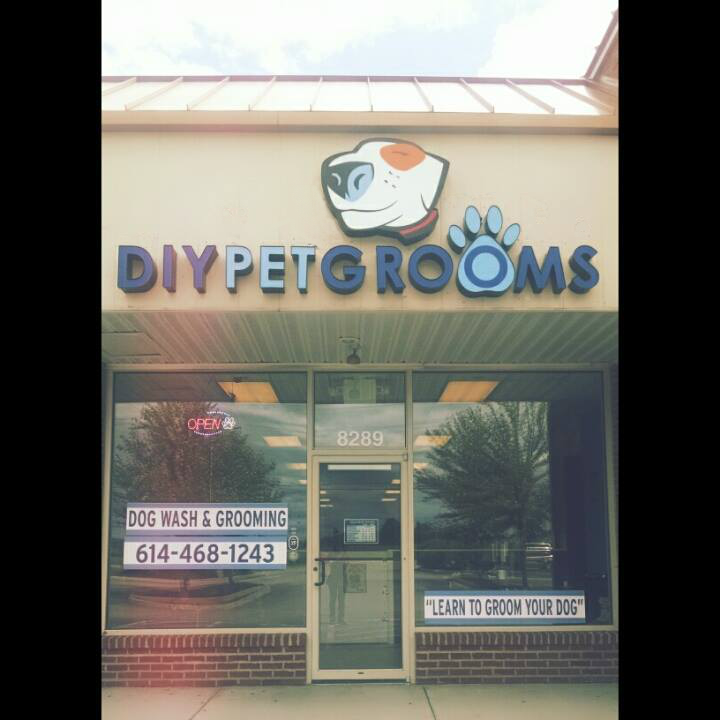 Self Serve Dog Wash Grooming Salon In Westerville Ohio Offering