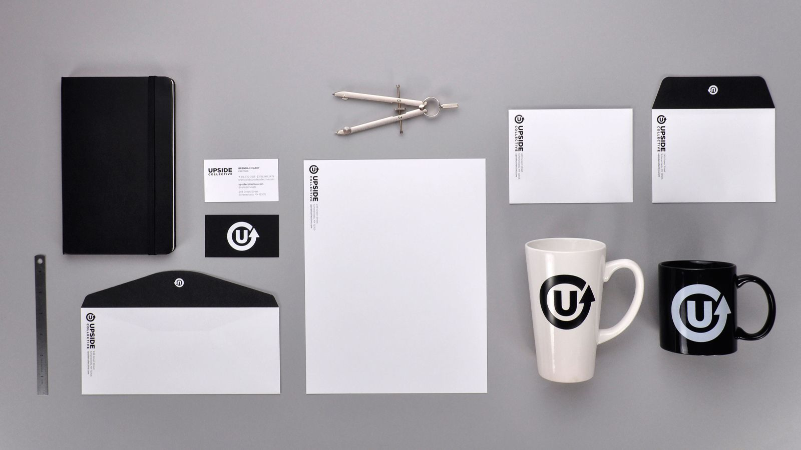 Upside Collective stationary
