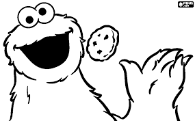 Image Result For Cookie Monster Face Coloring Page Sesame Street Coloring Pages Coloring Pages Monster Cookies