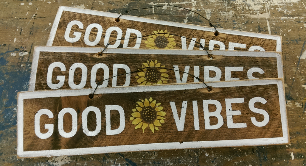 GOOD VIBES with Sunflower