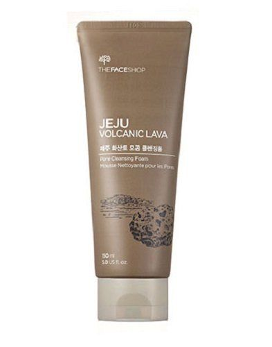 The Face Shop Jeju Volcanic Lava Pore Cleansing Foam 150ml >>> You can get additional details at the image link.