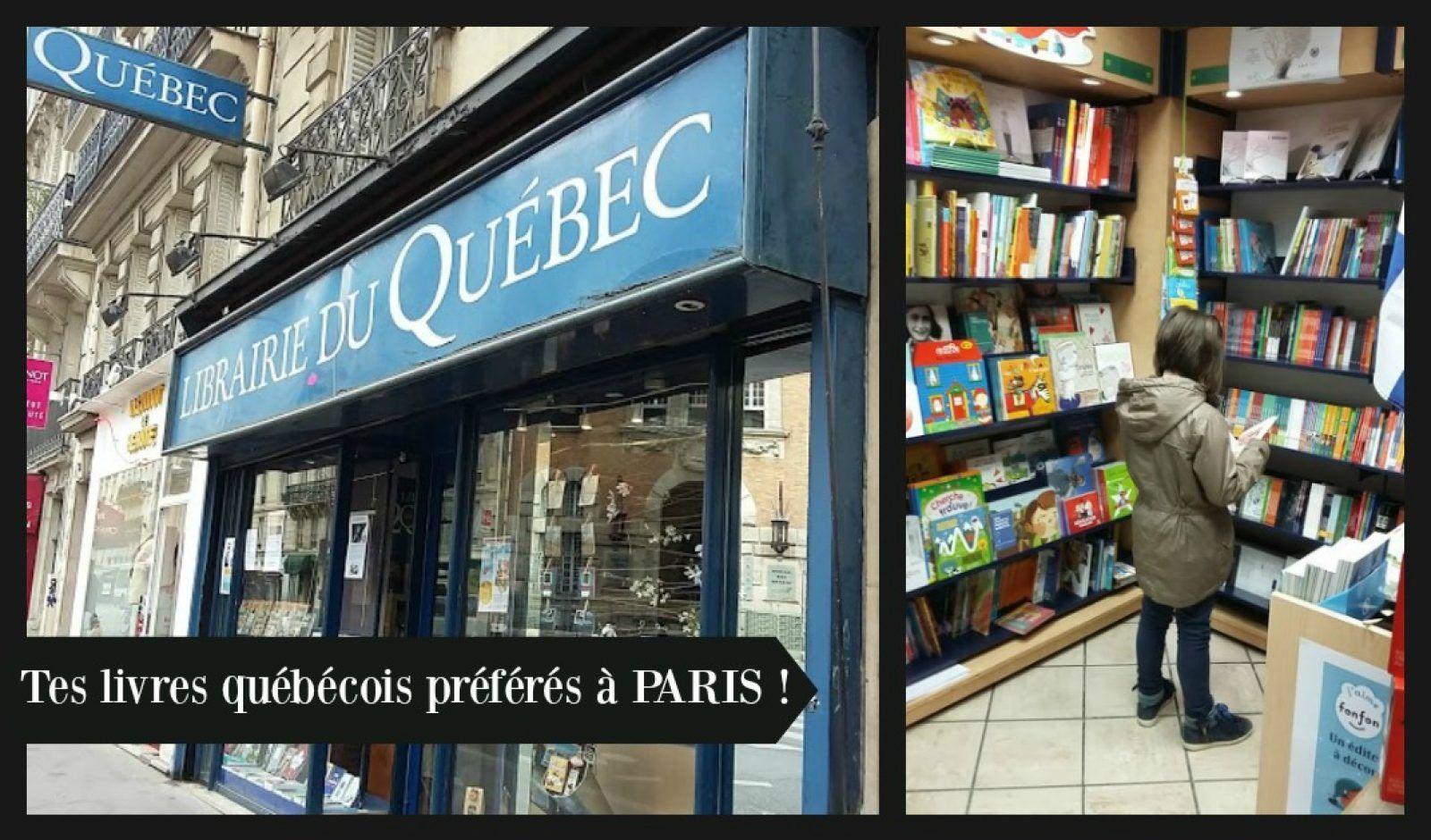 La Librairie du Québec à Paris, un petit bonheur…