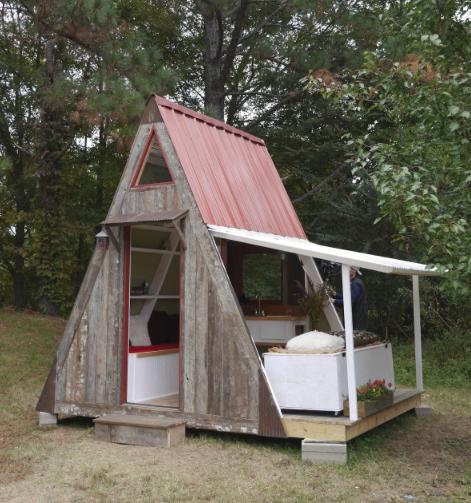 Deek Diedricksen S Transforming A Frame Getaway Cabin Pdf File A Frame House Getaway Cabins A Frame Cabin
