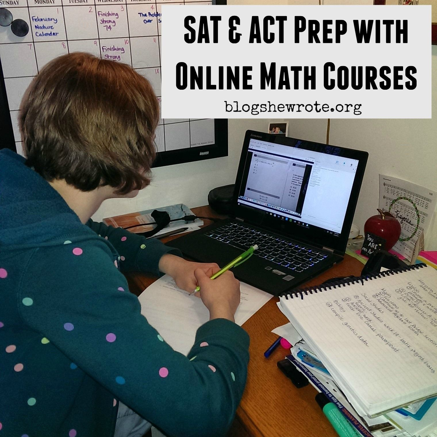 Prepare for college entrance exams with online math courses from Mr ...
