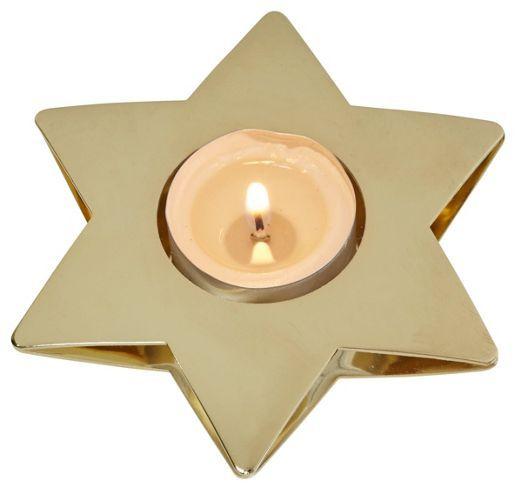 Teelichthalter in Gold – ein leuchtender Stern für mehr Stimmung