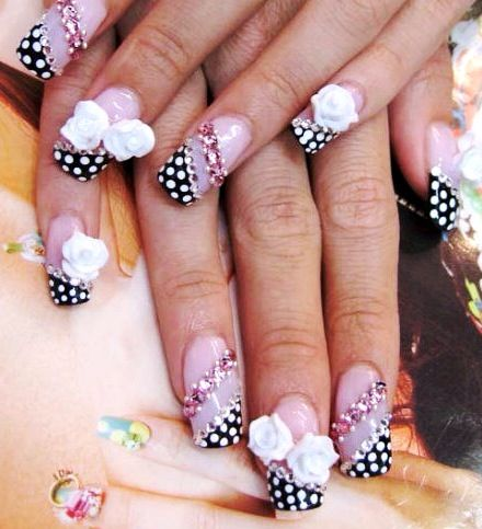 Cute 3d Nail Art Design Everything Nails Pinterest Fun Nails